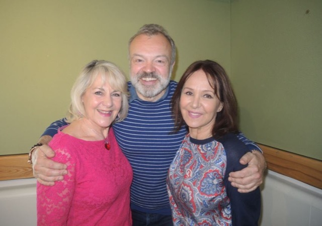 AP Graham Norton and Nina Myskow